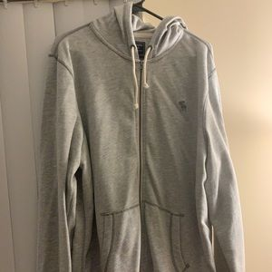 Abercrombie & Fitch men's XL, zip up hoody